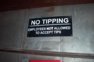 no-tipping