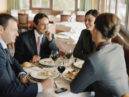 Business Dinner So You Want To Be A Waiter